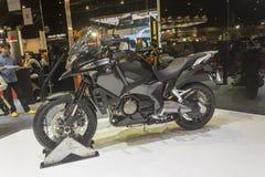 本田Crosstourer摩托车 免版税库存照片