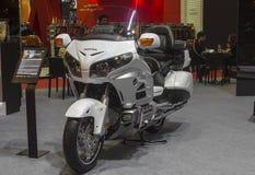 本田Goldwing摩托车 免版税图库摄影