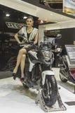 本田NC750摩托车 库存图片