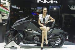 本田NM4摩托车 免版税库存图片
