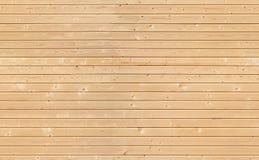 本色的木墙壁无缝的背景纹理  库存照片