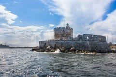 本营圣保罗罗得岛希腊 免版税库存图片