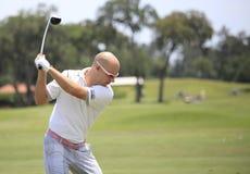本起重机佛罗里达球员sawgrass tpc 免版税库存照片