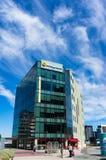 本迪戈在120个港口广场,港区的银行分行大厦 免版税库存图片