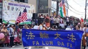 2015本年鉴印度天游行在爱迪生,新泽西 免版税库存照片