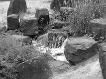 本质岩石泰国瀑布 免版税库存图片
