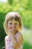 本质的小女孩 免版税库存照片
