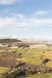 本Wyvis和斜坡Strathpeffer在苏格兰 免版税库存图片