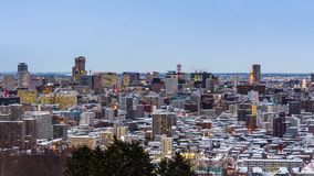 札幌,日本都市风景 影视素材
