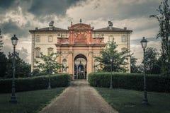 朱塞佩・韦尔季博物馆,布塞托,帕尔马,意大利 免版税库存照片