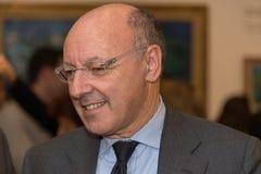 朱塞佩Marotta,尤文图斯队橄榄球俱乐部的CEO 库存图片