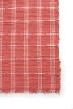 朱红色和白色织品 库存照片
