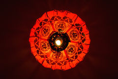 朱红色的灯笼,中国的标志 库存图片