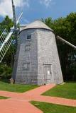 朱达贝克风车在南Yarmouth,美国 图库摄影