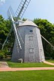 朱达贝克风车在南Yarmouth,美国 库存图片