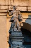 朱迪思雕象有Holofernes头的  免版税库存照片