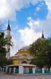 朱马雅米清真寺在叶夫帕托里亚 克里米亚 免版税图库摄影