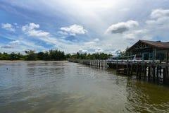 朴蒙山潜水和看见安达曼的码头旅行, Trang,泰国 库存照片