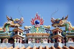 朴tai寺庙 库存照片