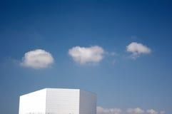 3朵云彩,巴塞罗那 库存照片