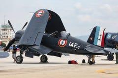 机会Vought F4U-7 免版税图库摄影