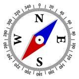 机体中心指南针绿色图标金属 免版税库存照片
