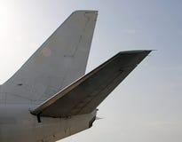 机体在船尾的部分 库存照片