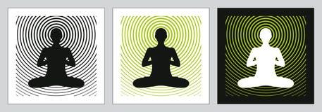 机体头脑灵魂瑜伽 免版税图库摄影