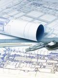 机制和工具工业图画  库存照片