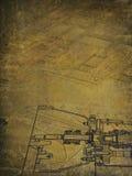 机制工业图画  图库摄影