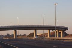 机动车路道路基础设施 库存照片