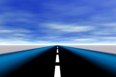 机动车路 向量例证