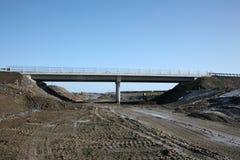 机动车路overbridge 免版税库存图片