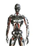 机器人从属 免版税库存照片