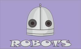 机器人先生 免版税图库摄影