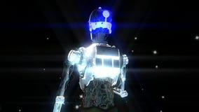 机器人动画 向量例证