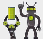 机器人和技术设计 免版税库存照片