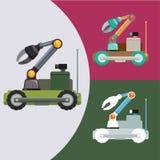 机器人和技术设计 库存图片