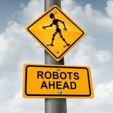 机器人和机器人概念 图库摄影
