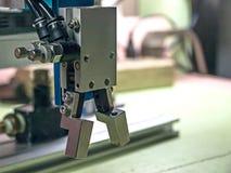 机器人夹子 免版税库存照片