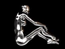 机器人妇女 图库摄影