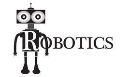 机器人学词文本概念性例证 库存照片