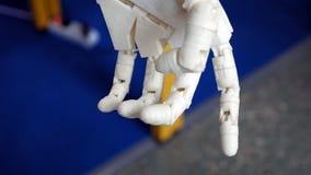 机器人弥补肢胳膊 免版税库存图片