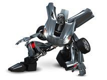 机器人汽车 免版税库存图片