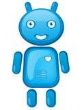 机器人漫画人物 免版税库存照片