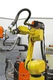 机器人焊接 库存照片