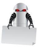 机器人片剂 免版税库存照片