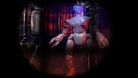 机器人狩猎 皇族释放例证