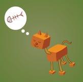 机器人猫一 免版税库存照片