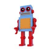 机器人玩具 皇族释放例证